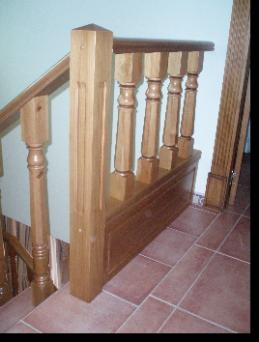 Barandas rusticas barandas de escaleras en madera ortiz - Escaleras rusticas de madera ...